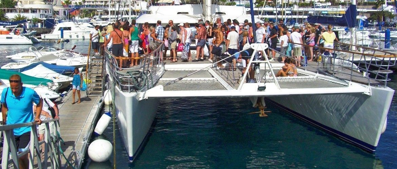 tenerife freebird boat trip