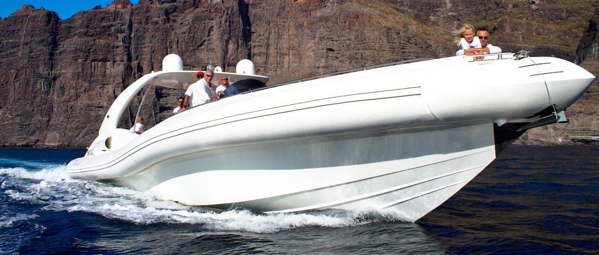 Yacht charter in Tenerife